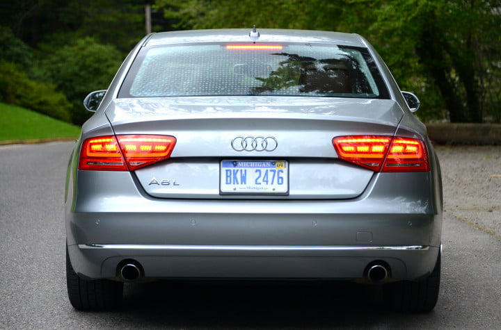 audi a review exterior rear