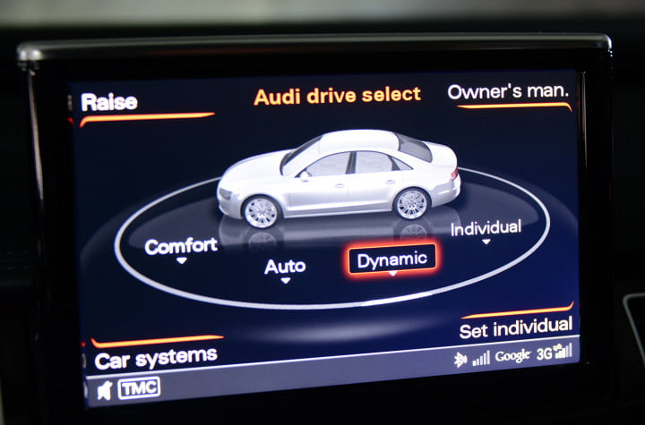 audi a review tech drive select