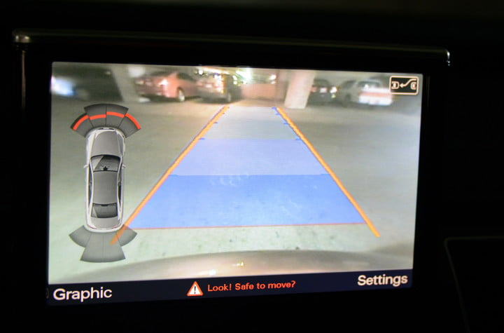 audi a review tech safety cameras