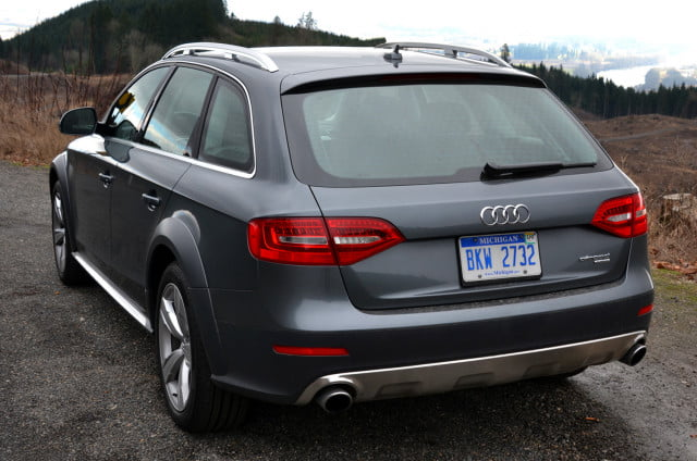 audi allroad back