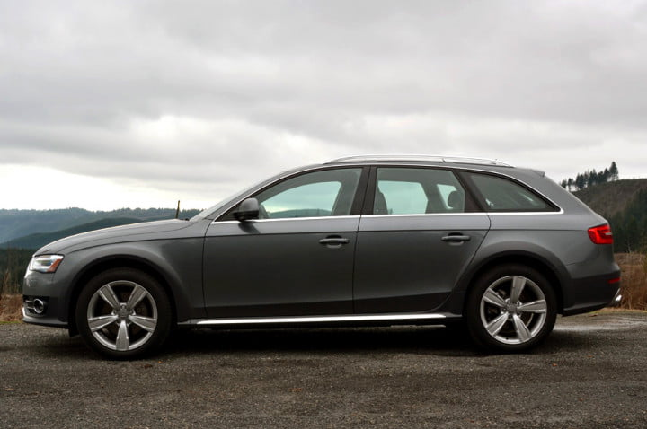 audi allroad review full side