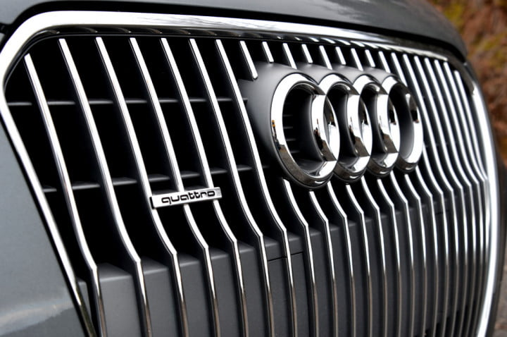 audi allroad review grill angle