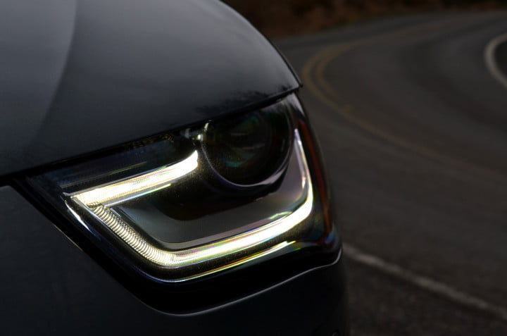 audi allroad review headlight