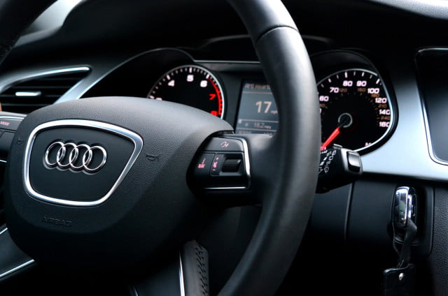 audi allroad steering console