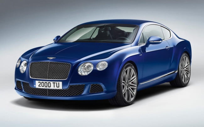 2013 Bentley Continental GT Speed front three-quarter