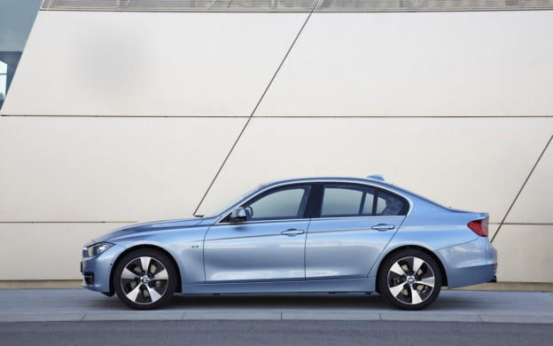 2013 BMW ActiveHybrid 3 driver's side view