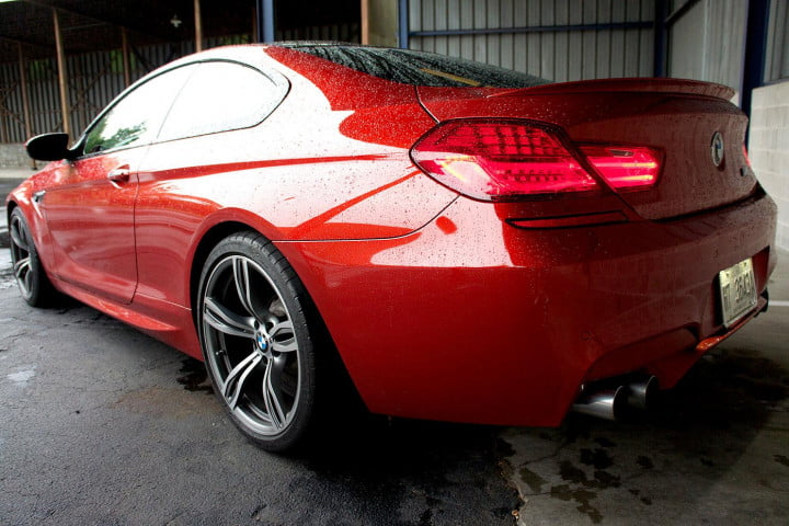 bmw m review back left angle