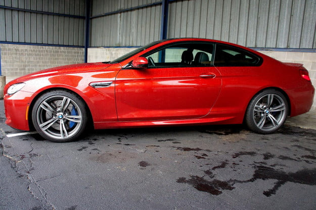 2013 BMW M6 right side