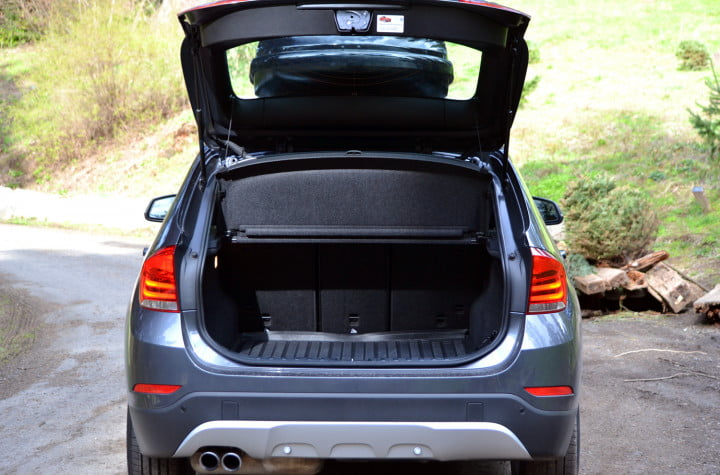 bmw x review back end