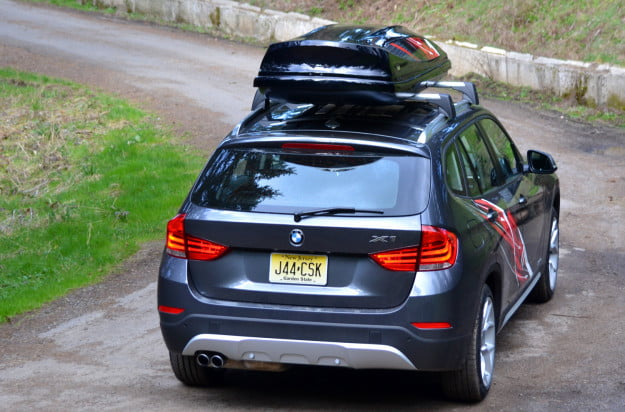 2013 BMW X1 rear angle motion
