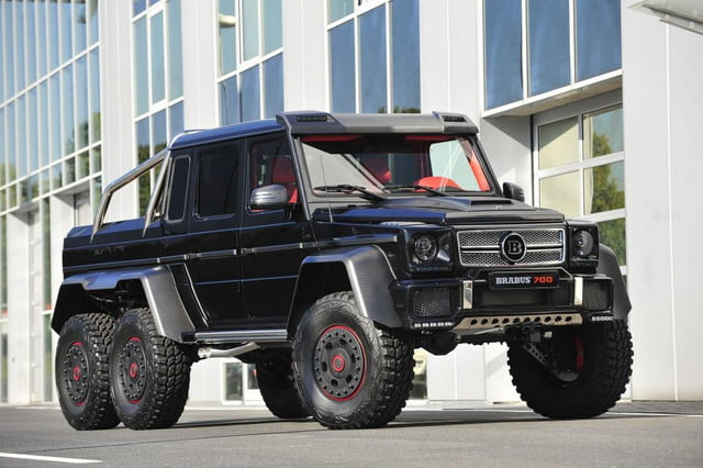 frankfurt  survive the apocalypse in style with brabus b s x based on mercedes benz g amg auto show l