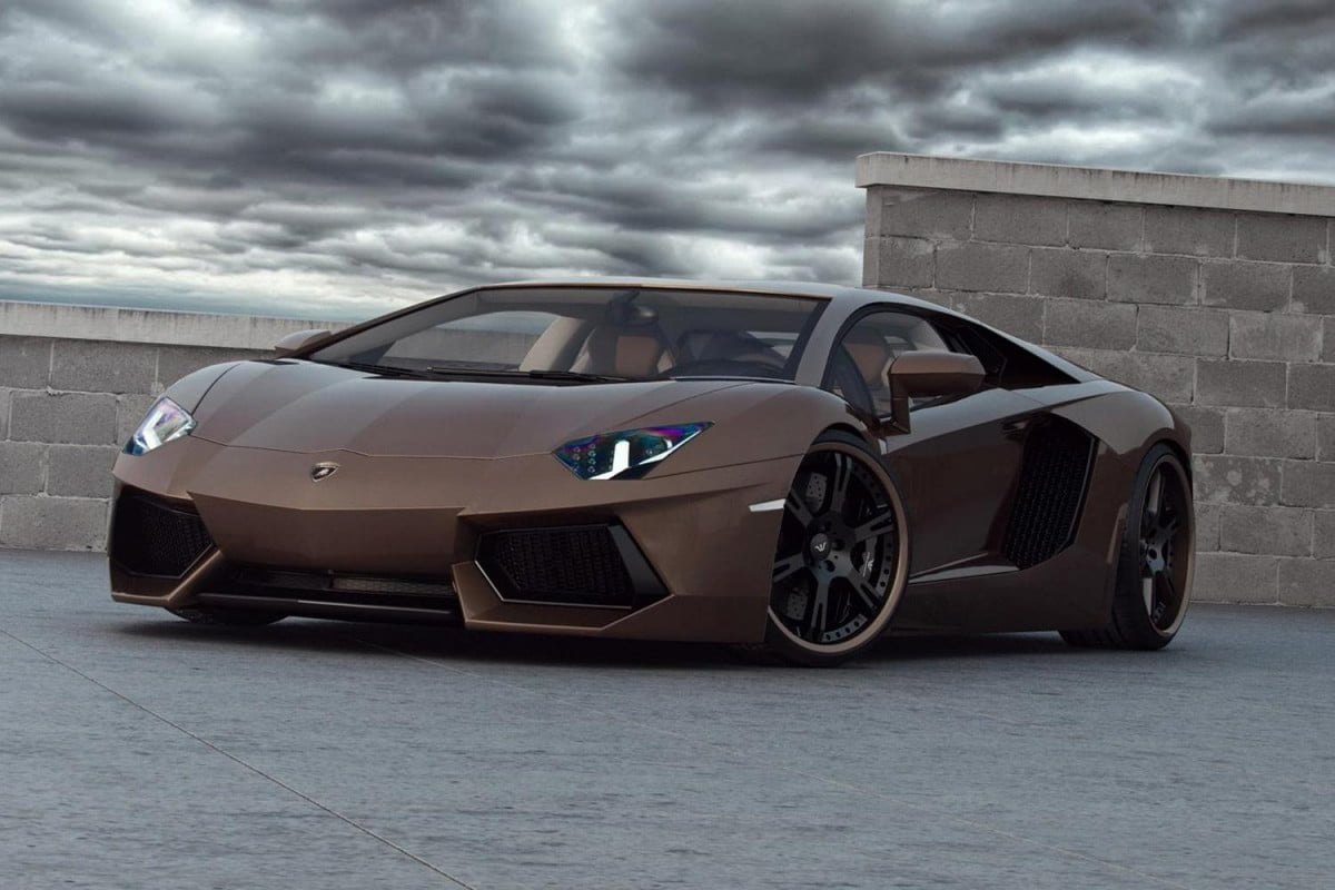interested buying new home dubai penthouse comes free lamborghini  brown aventador