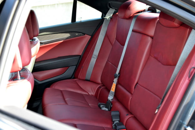 2013 Cadillac ATS review back seats luxury car