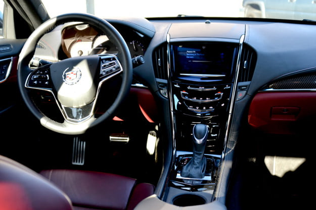 2013 Cadillac ATS review front drivers