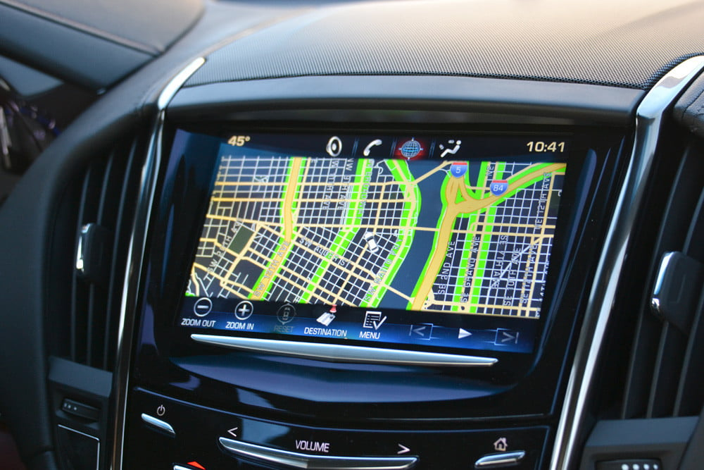 2013 Cadillac ATS review gps luxury car touch screen