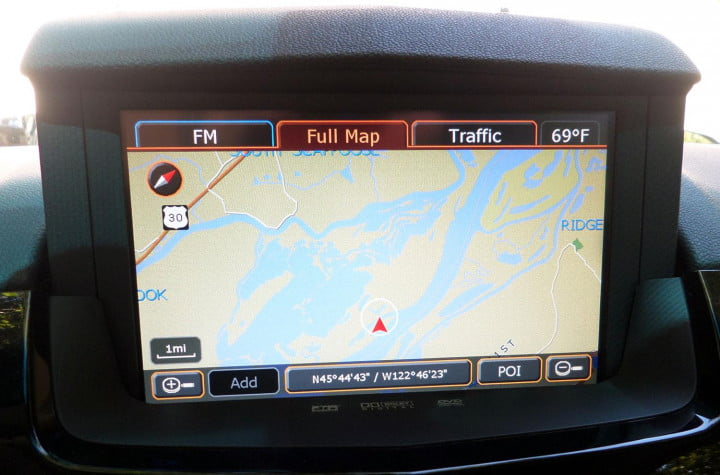 cadillac cts v sedan review tech navigation macro
