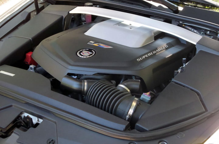 cadillac cts v sedan review engine
