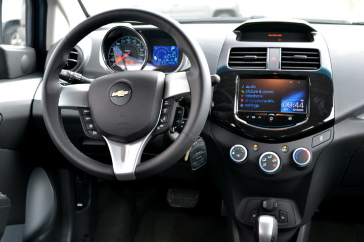 no disc drive nav problem  chevy spark brings your phone to the dash chevrolet lt interior