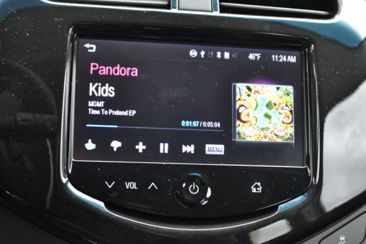 no disc drive nav problem  chevy spark brings your phone to the dash chevrolet lt pandora mgmt