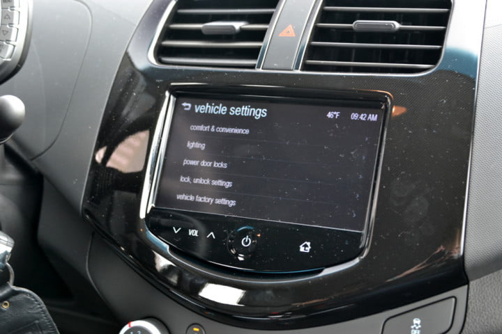 no disc drive nav problem  chevy spark brings your phone to the dash chevrolet lt vehicle settings