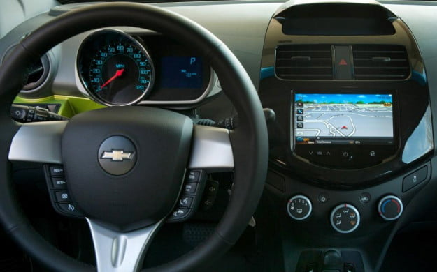 2013 Chevy Spark MyLink touch screen