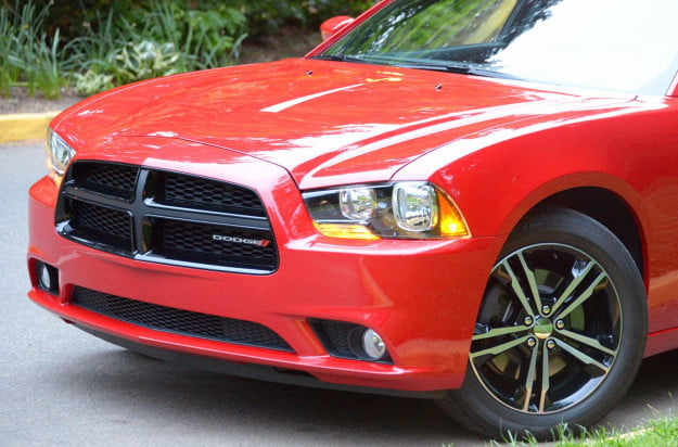 2013 Dodge Charger AWD exterior front macro
