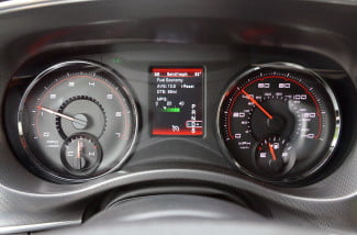 2013 Dodge Charger AWD instrument panel