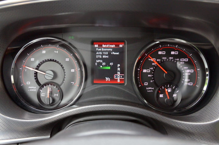 dodge charger sxt awd instrument panel