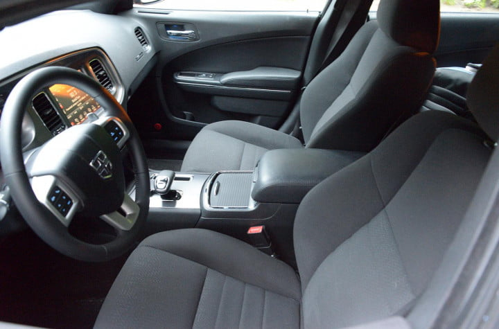 dodge charger sxt awd interior front