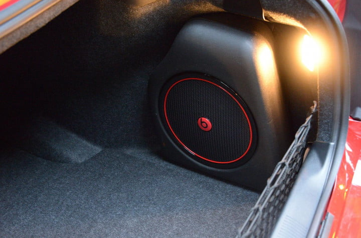 dodge charger sxt awd interior trunk subwoofer