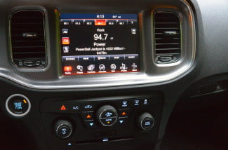 2013 Dodge Charger AWD Uconnect media center touchscreen