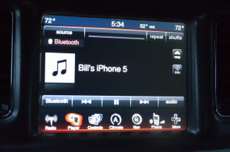 2013 Dodge Charger AWD Uconnect media center touchscreen Bluetooth