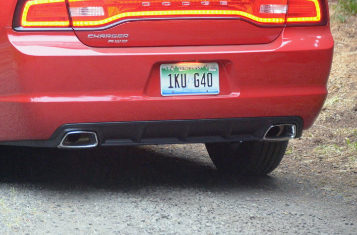 dodge charger sxt v awd dual exhaust