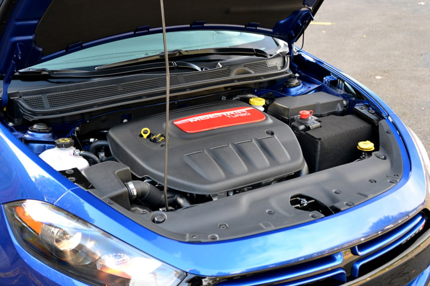 2013 Dodge Dart review engine exterior