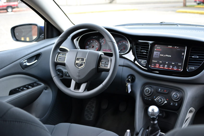 2013 Dodge Dart review front area