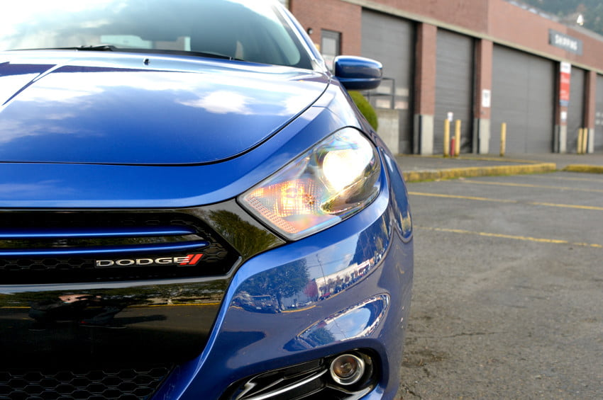2013 Dodge Dart review front left closeup exterior