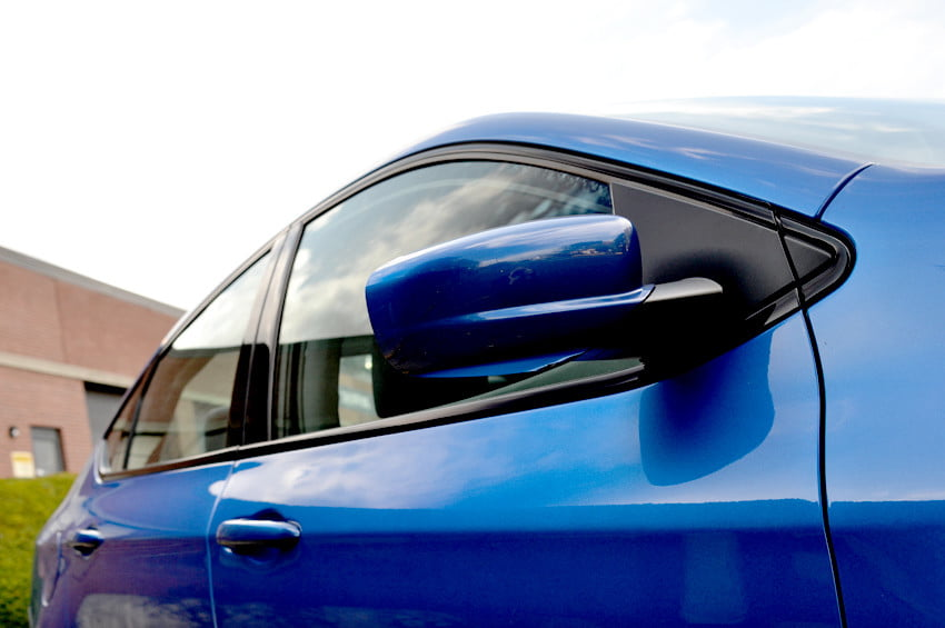 2013 Dodge Dart review side view mirror closeup exterior details