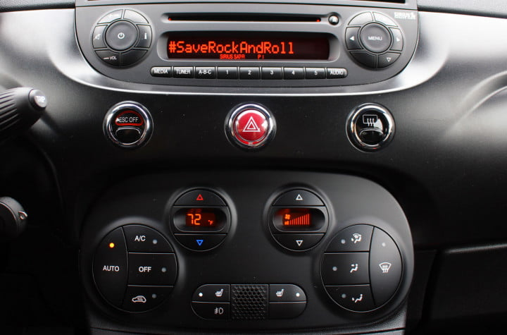 first drive fiats  e proves an italian accent is the key to making evs cool fiat interior stereo console