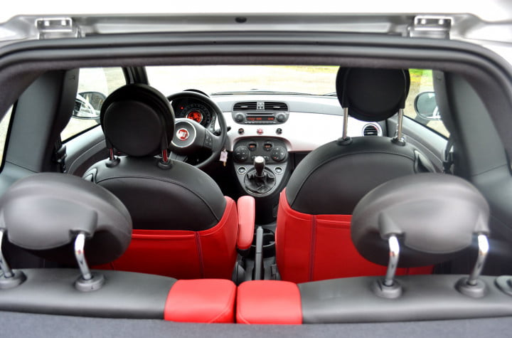 fiat review interior