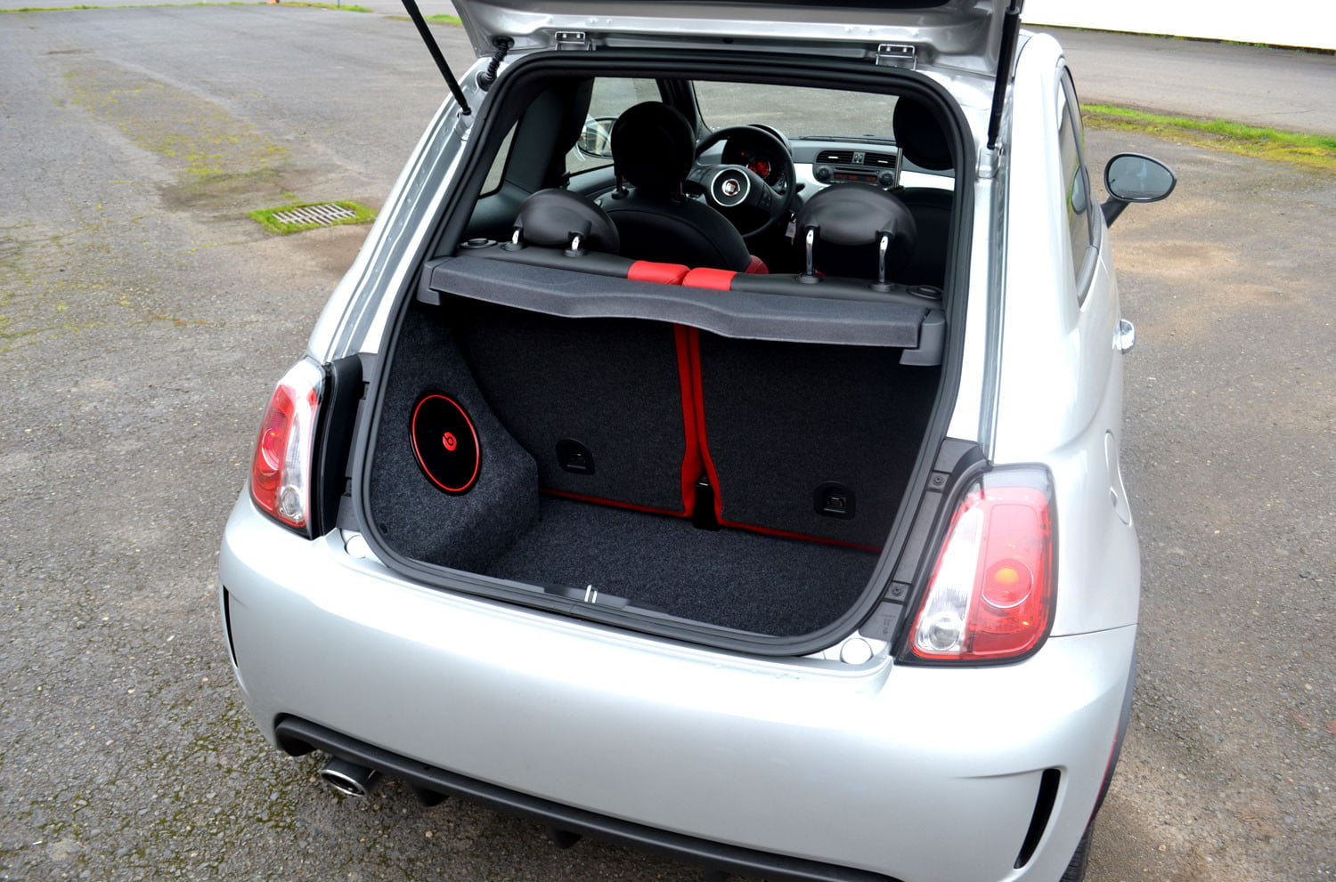Fiat 500 Abarth Trunk 2013 Fiat 500 r...