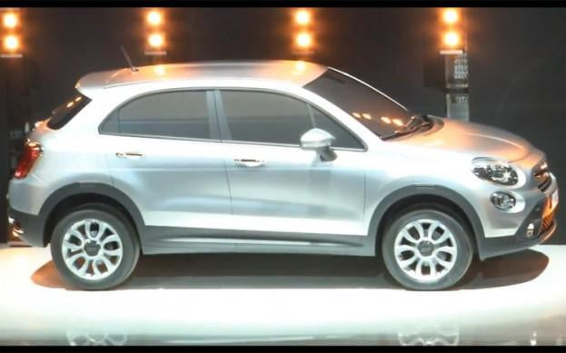2013 Fiat 500X crossover teased