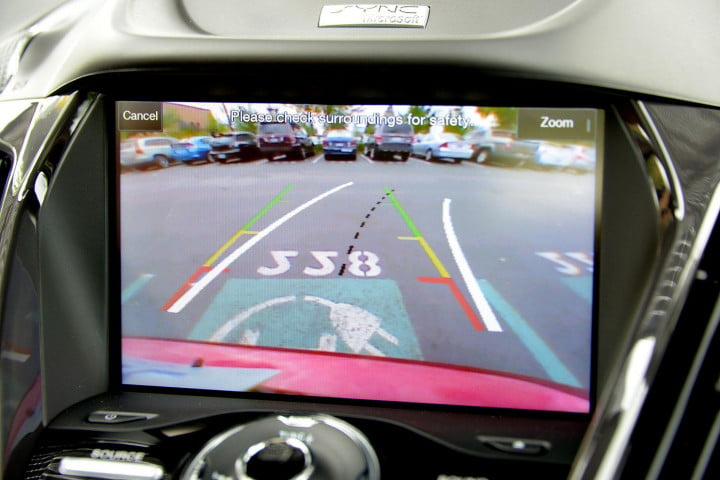 ford c max energi review cmax plugin backup camera
