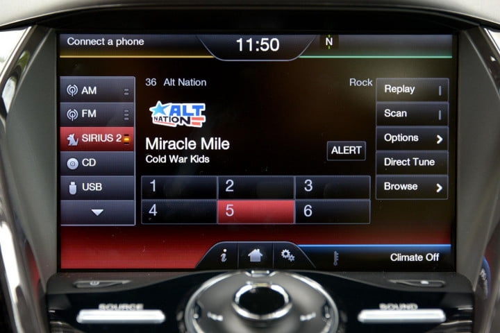 ford c max energi review cmax plugin center controls radio