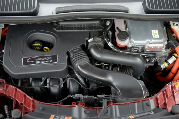 2013 Ford CMAX Plugin engine