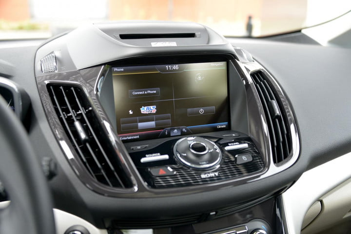 ford c max energi review cmax plugin screen angle
