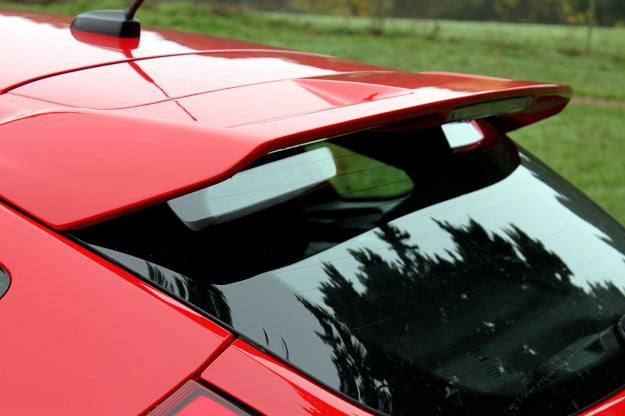 2013 Ford Focus ST back window