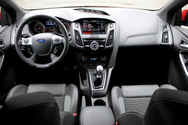 2013 Ford Focus ST cabin front