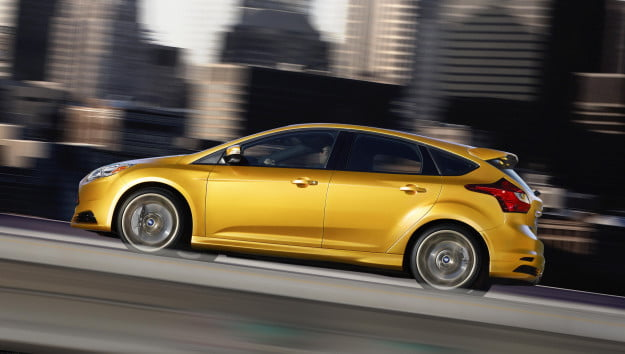 2013 Ford Focus ST profile