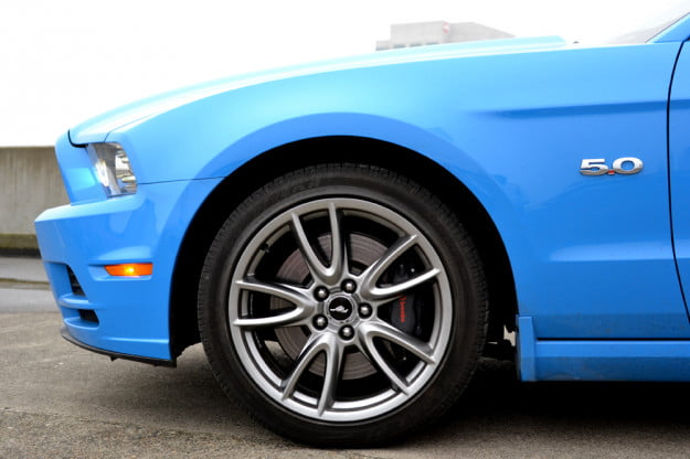 2013 Ford Mustang GT review front left close