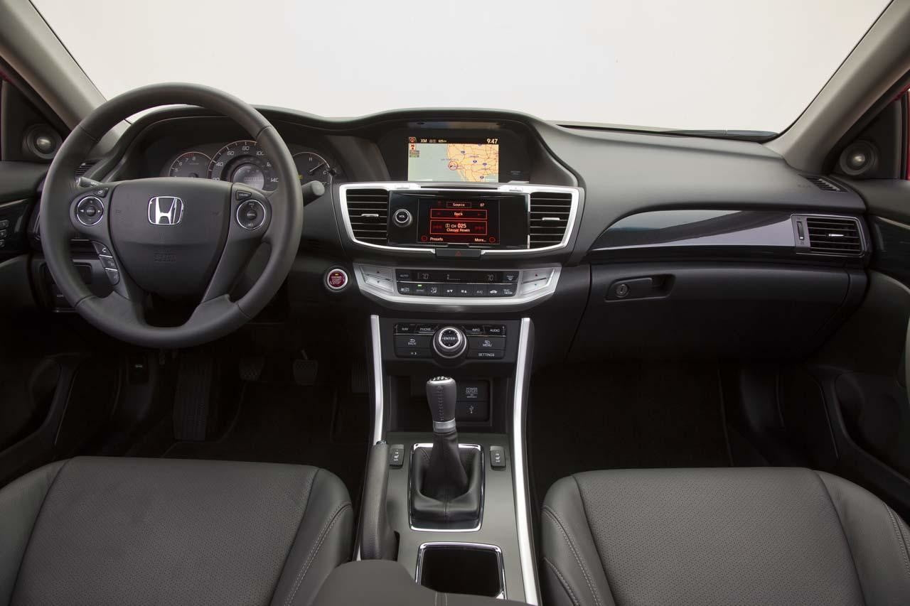 2013 Honda Accord EX-L V-6 Coupe interior